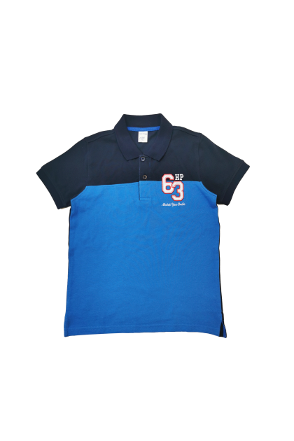 Hush Puppies Jordy Boy Stripe Polo With Embroidery |HBP039356