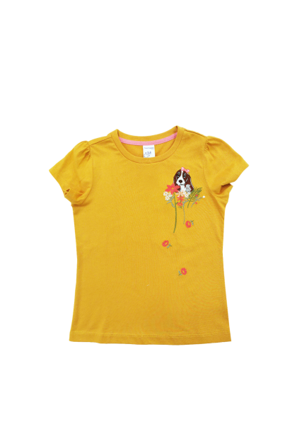 Hush Puppies-Emma Girl Round Neck Tee |HGT039322